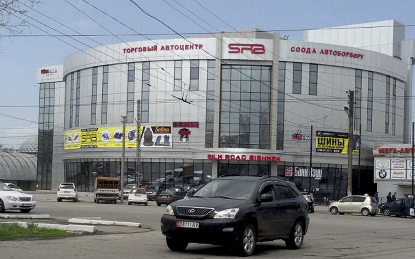 Разработка концепции для многопрофильного автоцентра «Silk Road Bishkek»
