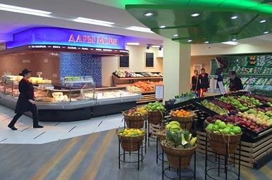 Дизайн торговых центров и магазинов