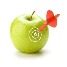 Попадание в яблочко