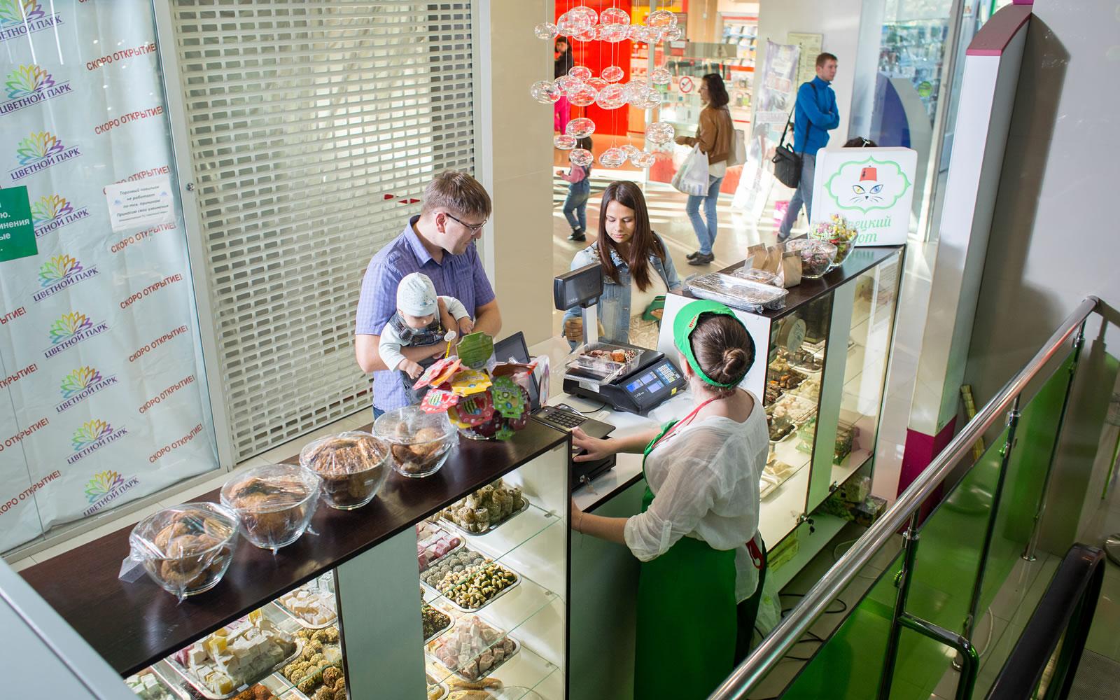 Островные арендаторы торгового центра «Цветной парк»
