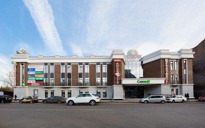 Торговый центр «Цветной парк», на ул. Дзержинского