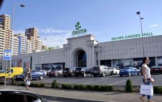 Фасад ТРЦ «Dalma Garden Mall» в Ереване