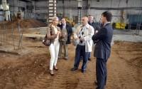 Обсуждение проекта на стройке ТЦ «Стройпорт» в Ижевске