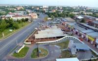 Парковка ТЦ «Стройпорт» в Ижевске на этапе строительства
