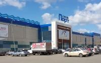 Фасад ТЦ «Стройпорт» в Ижевске