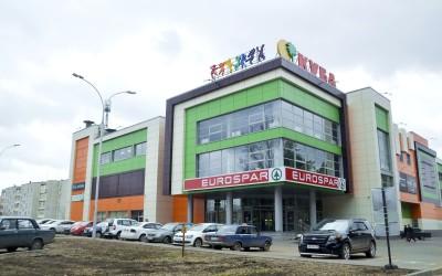 Фасад ТРЦ «Куба», Саров