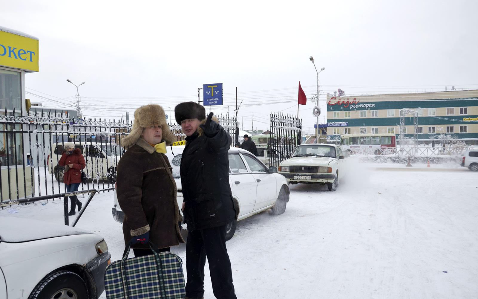 """Обсуждение проекта развития ТК """"Столичный"""" в Якутске"""