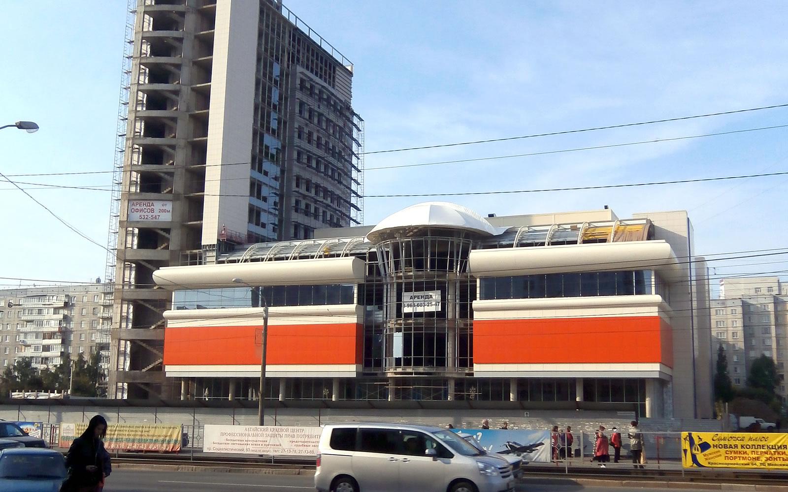 """0c83a658d59d ТОЦ """"Гулливер Парк"""", Барнаул – Проектирование и дизайн торговых центров"""