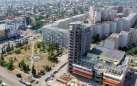 Строительство ТОЦ «Гулливер-Парк» в Барнауле