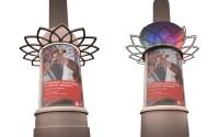 Дизайн информационных колонн для ТОЦ «Гулливер-Парк»