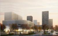"""Проект нового торгового центра """"Молния"""" в жилом районе Грайвороново"""