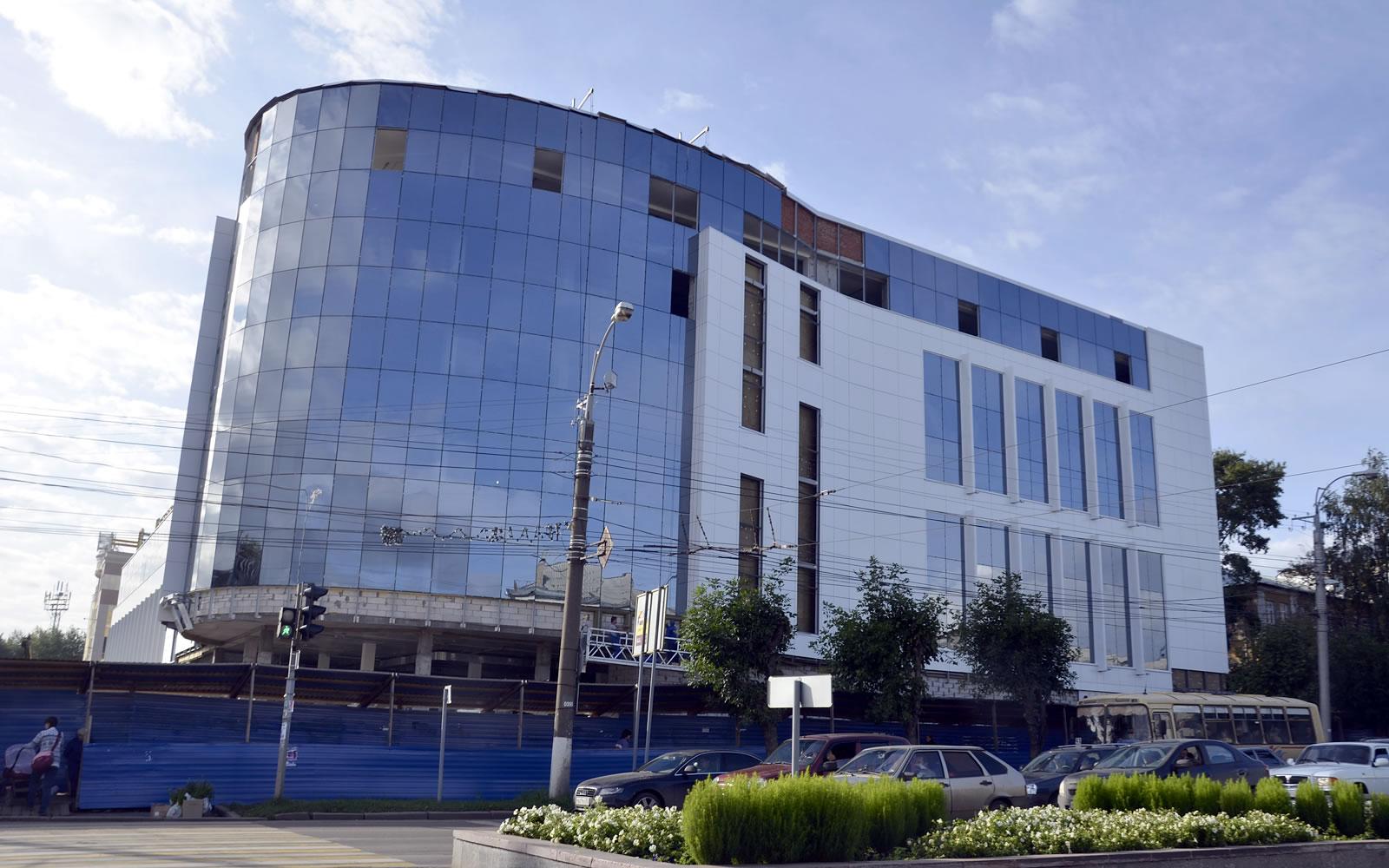 Строительство ТЦ «Вятка-ЦУМ» в Кирове