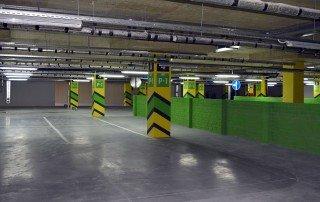 Дизайн системы навигации подземного паркинга торгово-офисного центра «Гулливер парк»