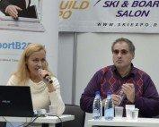 Доклад Киры и Рубена Канаян на Лыжном салоне