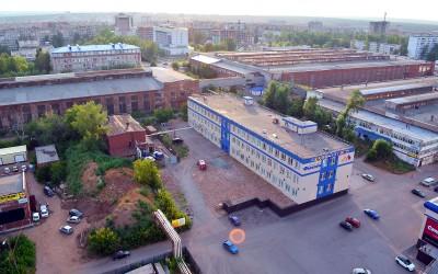 """Фасад МФК """"Грантфлот"""" в Ижевске"""