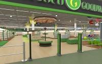 Дизайн-проект супермаркета Goodwill
