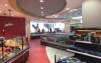 Дизайн-проект супермаркета «Вкусмарт», Астана