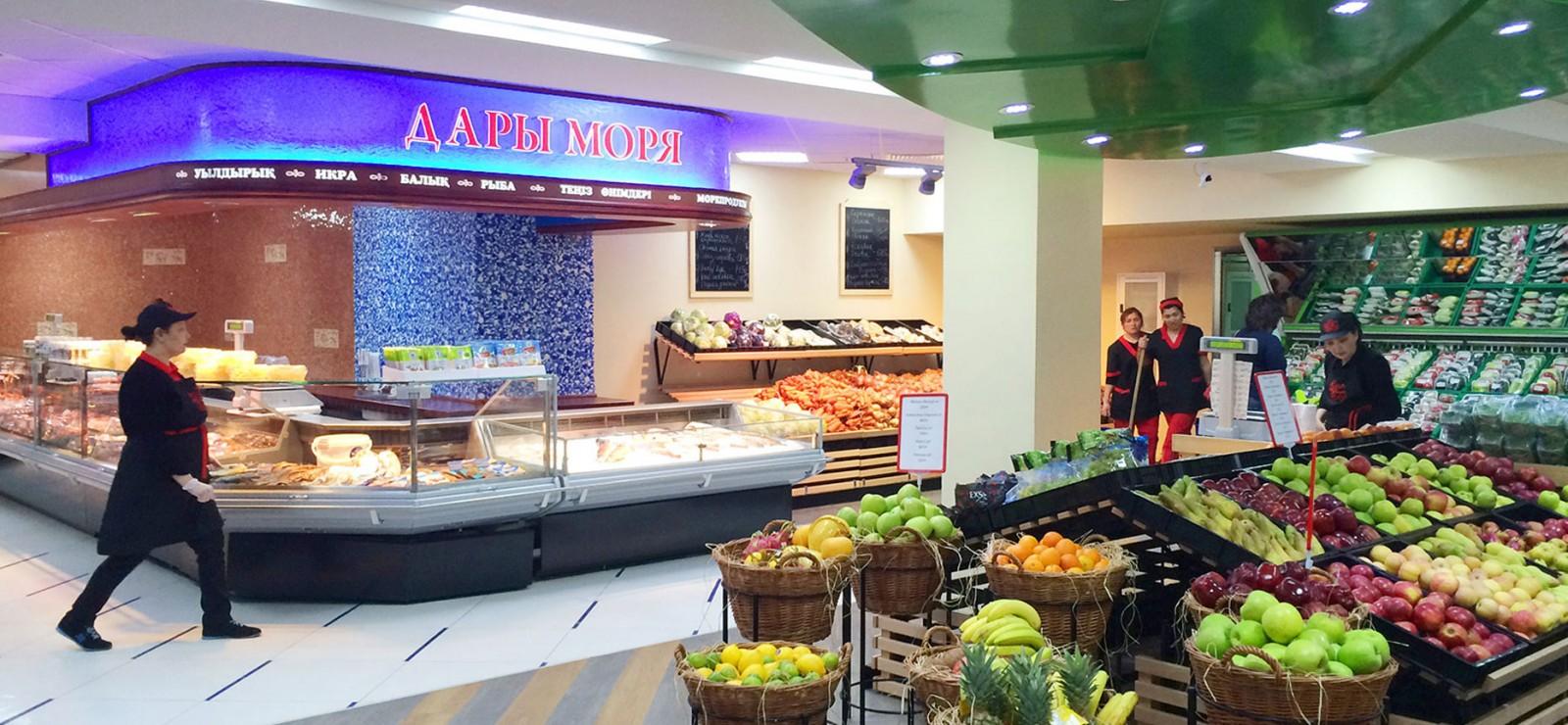 Дизайн интерьера для торговых центров и магазинов