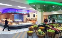 Дизайн отдела «Фрукы-Овощи» деликатесного супермаркета «АСТАНА - Мир Вкуса»