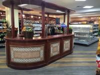 Дизайн индивидуального торгового оборудования для деликатесного супермаркета «АСТАНА - Мир Вкуса»