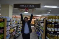 Дизайн системы навигации для деликатемного супермаркета «АСТАНА - Мир Вкуса»