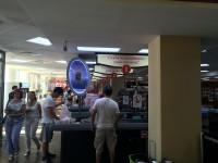 Дизайн прикассовой зоны в интерьере деликатесного супермаркета «АСТАНА - Мир Вкуса»