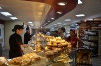 Дизайн зоны пекарни в интерьере деликатесного супермаркета «АСТАНА - Мир Вкуса»