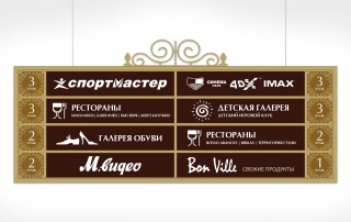 Дизайн-проект навигационного знака для вертикальной ориентации