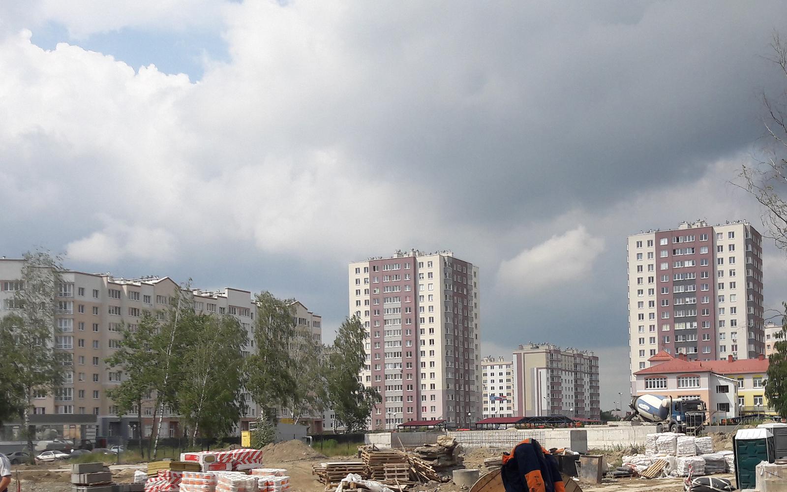 Жилой район Восточный Калининград