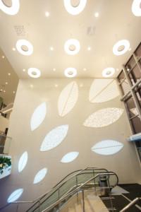 Дизайн входной зоны ТРК «Лотос Plaza»