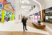 """Галерея торгово-развлекательного центра «Лотос Plaza» у входа в детский развлекательный центр """"Боше парк""""."""