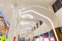 Важное место в дизайн-проекте ТРК «Лотос Plaza» занимает световой дизайн.